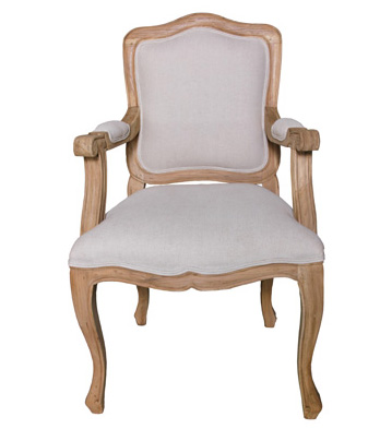 French Camel Back Dining Chair