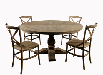 Rount Trastle table & Bistro Chairs